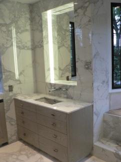 meuble vasque marbre arppec
